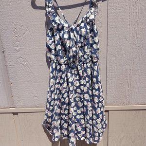 LAUREN CONRAD DISNEY DRESS MRS POTTS SIZE SMALL